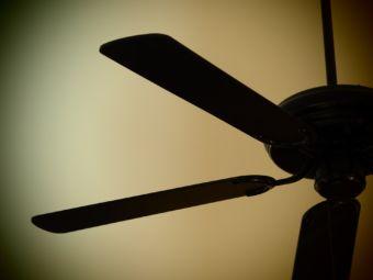A ceiling fan