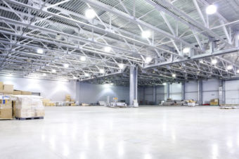 high bay led commercial lighting project