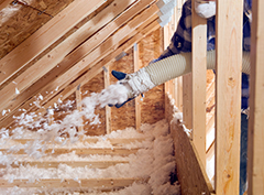 Blown Fiberglass Insulation